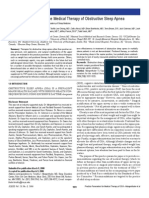 2006 SLEEP - Practice Parameters Treatment OSA