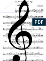 Sonata N°9 Op.5 - Corelli - Trb4 - Trombone 1