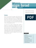 EDR Design Briefs Glazing