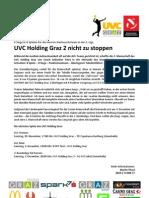 UVC Holding Graz 2 nicht zu stoppen