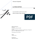 Tommaso Cam Panel La - La Citta Del Sole
