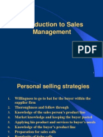 Sales & Distribution Management - Class PPTs - Student Version
