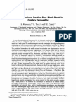 A Three-dimensional Junction-pore-matrix Model for Capillary Permeability - S