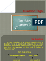 Question Tags - 3os medios