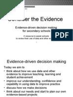1 Consider the Evidence Full