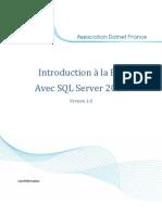 Introduction à la BI avec SQL Server 2008