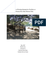 Inventory of Existing Interpretive Facilities At