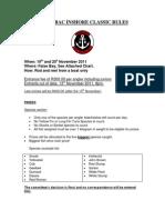 2011 GBBAC Inshore Classic Rules