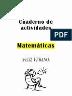 Cuaderno Actividades 3 Prim Mates