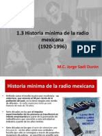 historia minima de la radio en méxico 1.3