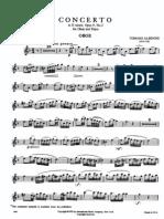 Albinoni - Concerto for Oboe in d Minor Op. 9 No