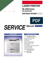 Service Parts+Ml 3050,+Ml 3051nd Xfa