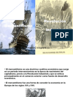 Mercantilismo y Rev. Industrial