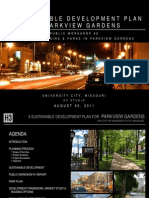 A Sustainable Development Plan for Parkview Gardens Neighborhood - University City, MO by H3 Studio, #2
