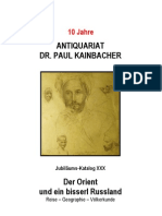 Antiquariat Kainbacher Katalog