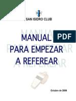 Manual Referees SIC