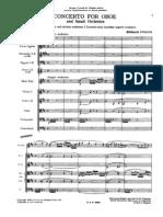 Strauss - Oboe Concerto (Orchestral Score)