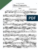 Goossens - Oboe Concerto (Piano Reduction)