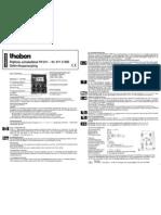 Theben TR611 Handleiding