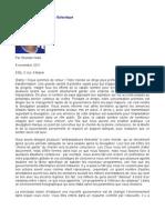 Message de La Fédération Galactique - Sheldan Nidle - 8 novembre 2011
