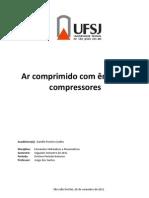 Ar comprimido com ênfase em compressores