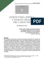 Estructura Edipica de Los Rasgos Orales Del Caracter