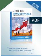 La Era de La Productividad - Resumen Ejecutivo