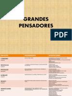 GRANDES PENSADORES