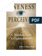 Eisen, Jeffrey - Oneness Perceived, A Window Into Enlightenment - Forward+Ch1