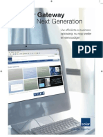 Gateway Next Generation Brochure 2011
