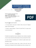 DPP - Compilação de Testes