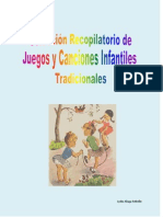 Selección recopilatorio juegos y canciones infantiles tradicionales