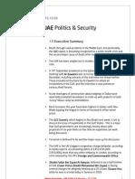 UAE Politics and Security - 15.12.05