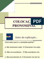 Colocacao Pronominal