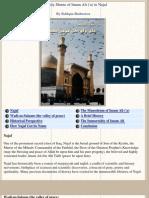 The Holy Shrine of Imam Ali ('a) in Najaf