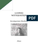 Wittgenstein (1999 or1958)