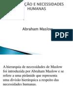 Slides sobre Pirâmide de Maslow