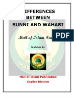 Difference Between Sunni and Wahabi