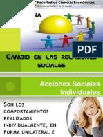 Clase 4 - Cambio en Las Relaciones Sociales