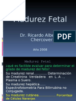 OBSTETRICIA - Madurez Pulmonar