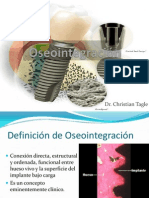 3) Oseointegración