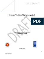 Strategic Priorities of Digital Bangladesh Jan 2011