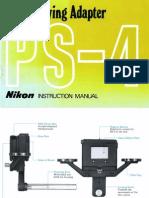 Nikon PS4 Manual