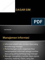 2. Konsep Dasar SIM