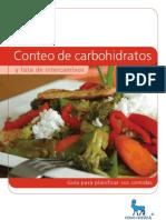 Listado de Alimentos Por 15 Gr de Carbohidratos