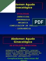 Abdomen Agudo Ginecológico