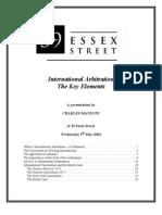 CMZ International Arbitration 050504