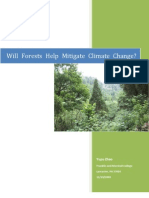 Yupu, Forests and Climate Change