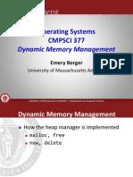 Cmpsci 377 Memory Management 3877