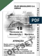 Teste de Mecânica - Petrobrás